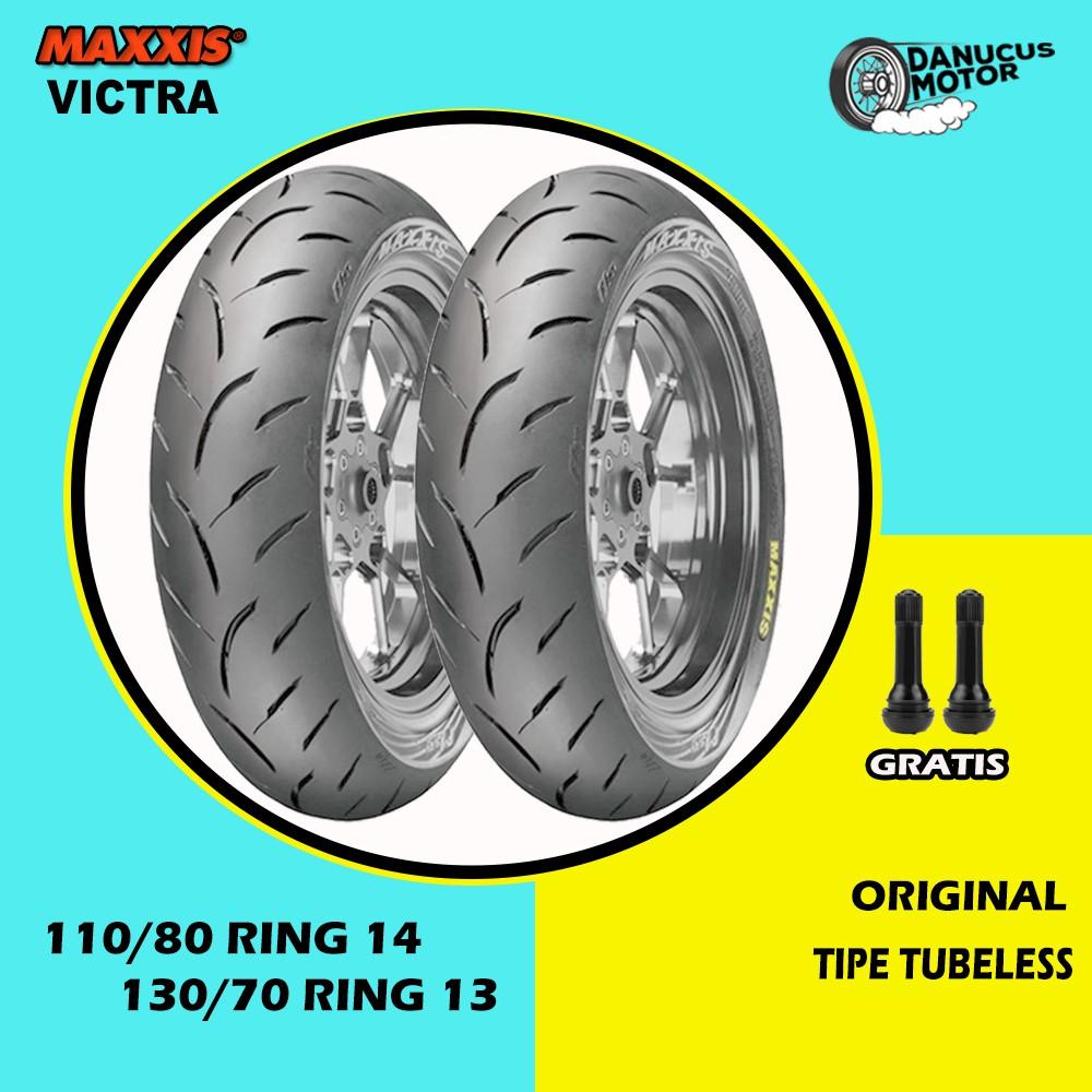 ยางล้อหลังสําหรับ Honda Adv 110 / 80 Ring 14-130 / 70 Ring 13
