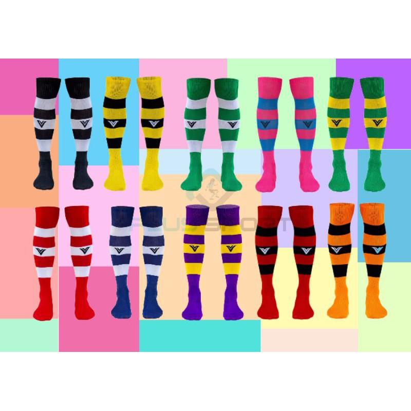 ถุงเท้าฟุตบอลยาว Victory Striped Socks.