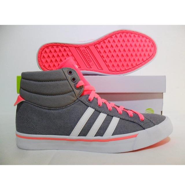 รองเท้า Adidas Neo ของแท้ 100% รองเท้าผ้าใบ หุ้มข้อ