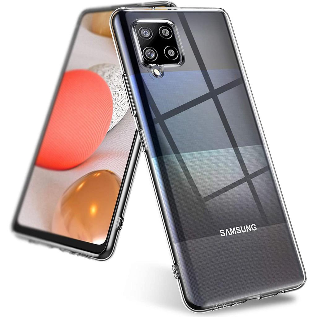 เคสสำหรับ Samsung Galaxy A42 5G Case Transparent Silicone TPU Soft เคส Samsung A42 5G A 42 Back Cover Phone Case