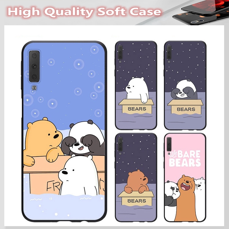 casing for SAMSUNG A2 CORE J7 Pro J7 PLUS A6 A6+ A7 A8 A8+ A8 Star A9 2018 Cover Bear Soft Case