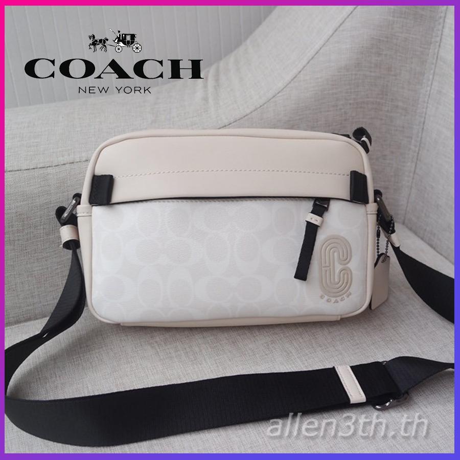 กระเป๋าผู้ชาย Coach F2338 กระเป๋าสะพายข้างผู้ชาย / crossbody bag / กระเป๋ากล้อง