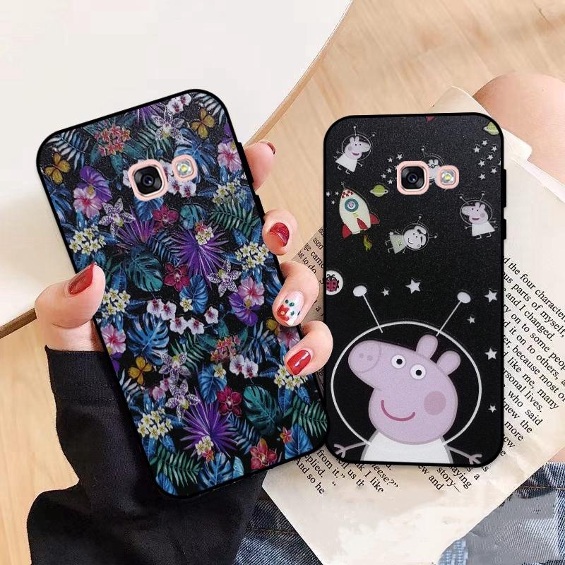 Yoob-Samsung A3 A5 A6 A7 A8 A9 Pro Star Plus 2015 2016 2017 2018 HDXL Pattern-5 Silicon Case Cover
