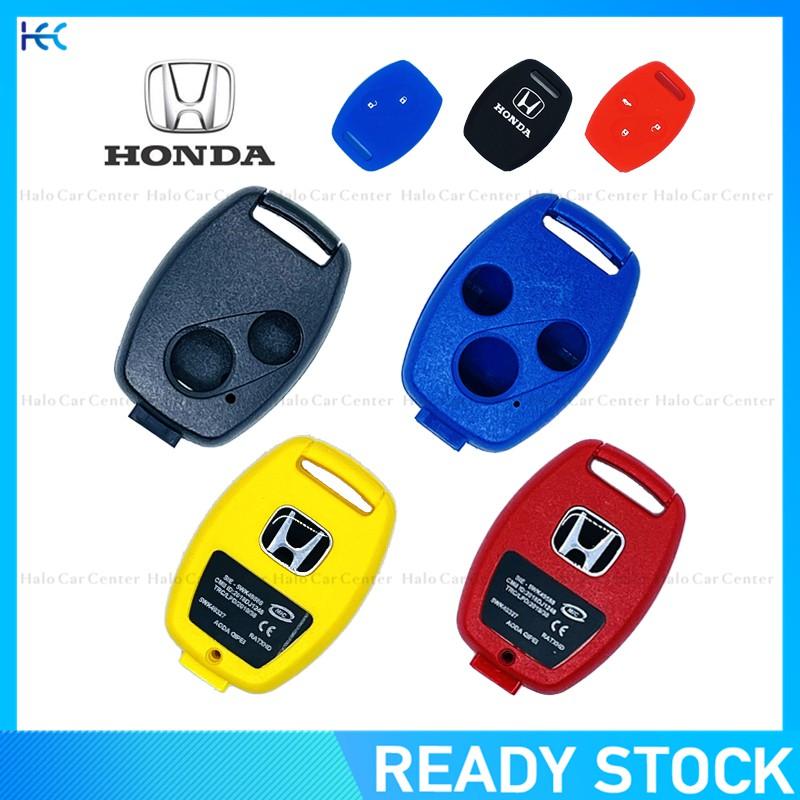 เคสกุญแจรีโมทรถยนต์ 2 ปุ่ม และ3 ปุ่ม สำหรับ Honda Jazz City CRV CIVIC