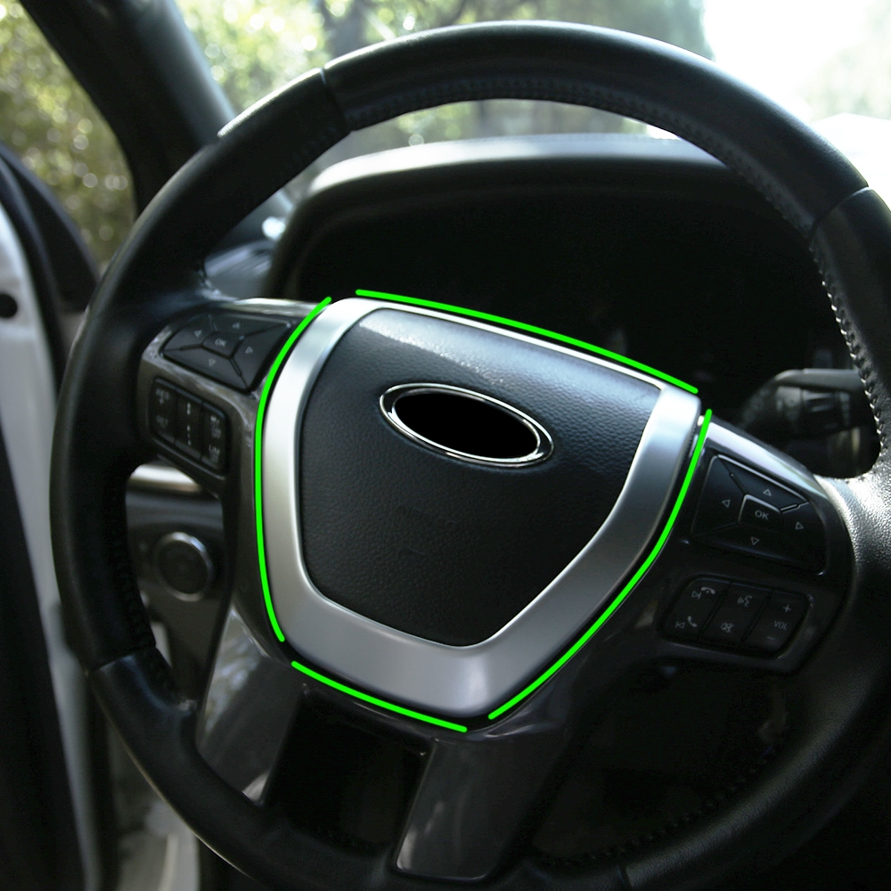 Smoke Type Door Speaker Cover Trim For Cadillac XT5 2016~2018