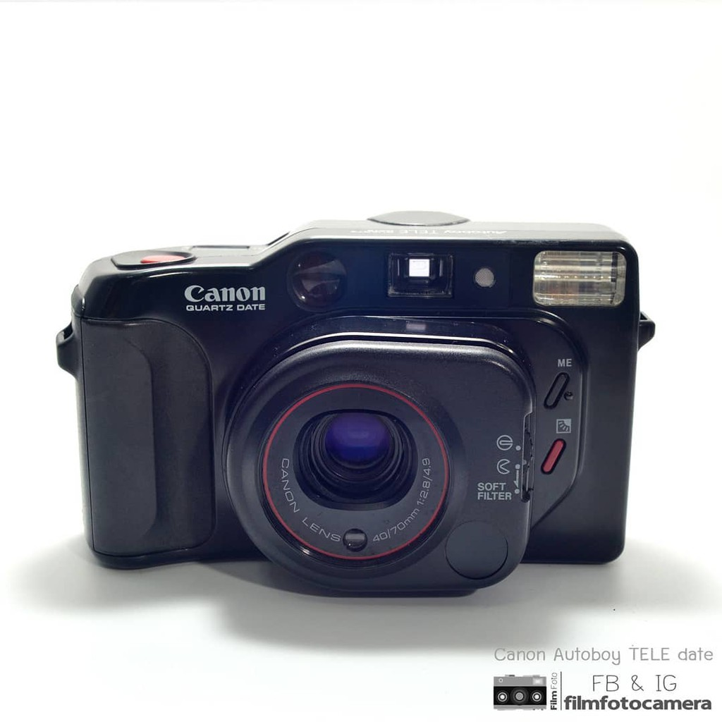 กล้องฟิล์ม Canon Autoboy Tele