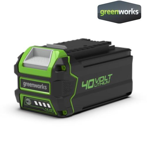 Greenworks แบตเตอรี่ ขนาด 40V, ความจุ 4 แอมป์ (2927007)