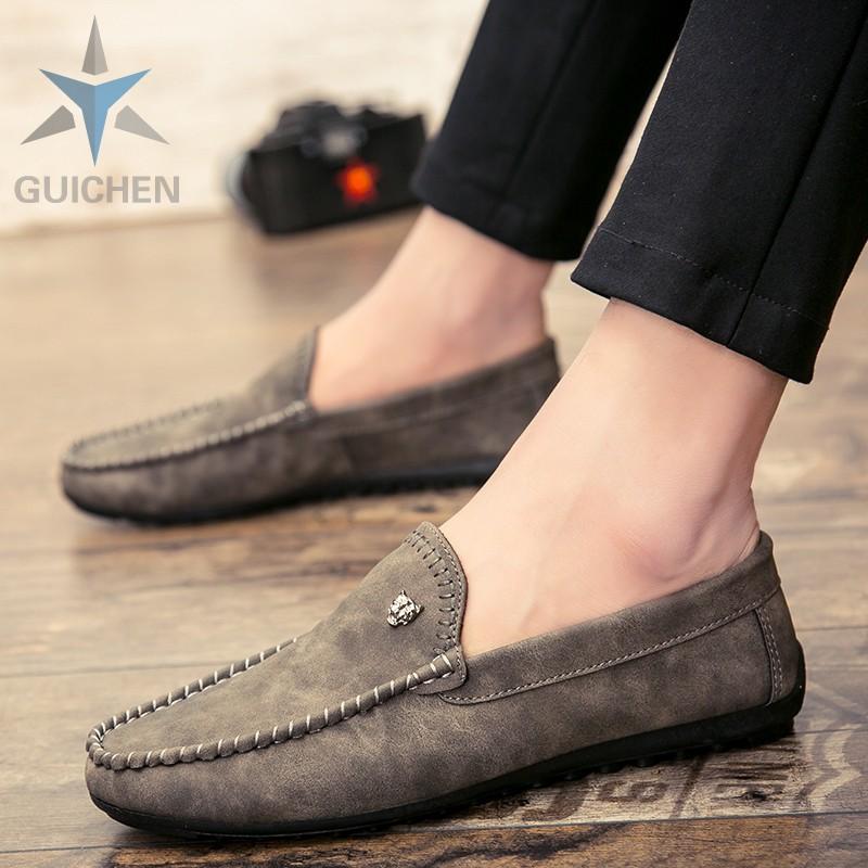 ⊙▩♨⚡GC รองเท้าคัชชู รองเท้าโลฟเฟอร์หนัง สีดำ สำหรับผู้ชาย รองเท้าหนังแฟชั่น loafer 05
