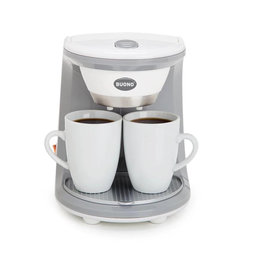 ShopE เครื่องชงกาแฟ BUONO  2 ถ้วย (BUO-252312) เครื่องทำกาแฟ เครื่องต้มกาแฟ กาแฟสด