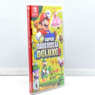 Nintendo Switch™ New Super Mario Bros. U Deluxe Zone Asia./Eng. เกม มาริโอบรอส ยู