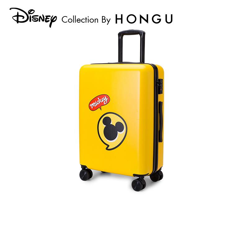 ЗˉRed Valley Disney Disney Mickeyผู้ปกครองเด็กกระเป๋าเดินทางกระเป๋าเด็ก18นิ้วกรณีรถเข็น22นิ้วขึ้นเครื่อง