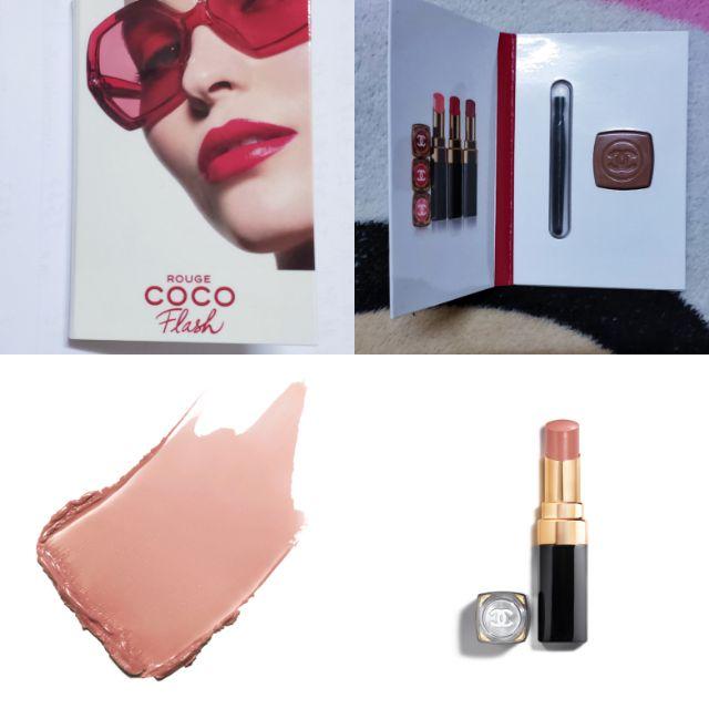 CHANEL rouge coco flash lip card. No54 Boy ขนาด 0.75g. MFG 10/2561 EXP 10/2565