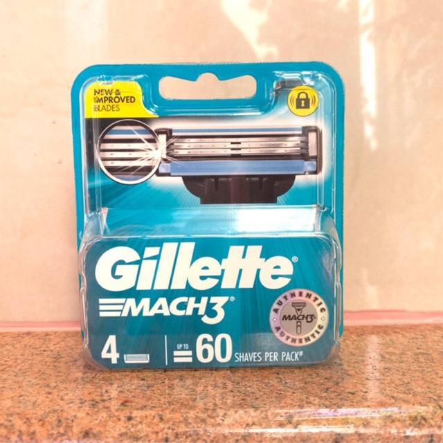 ใบมีดโกนหนวด Gillette Mach3