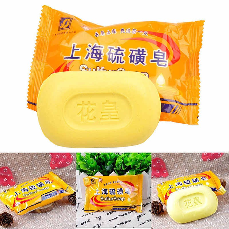 Beauty & Health Honey Hot Sale 84g Sulphur Soap Dermatitis Fungus Eczema Anti Bacteria Fungus Skin Care Bath Whitening Soaps Fast Color