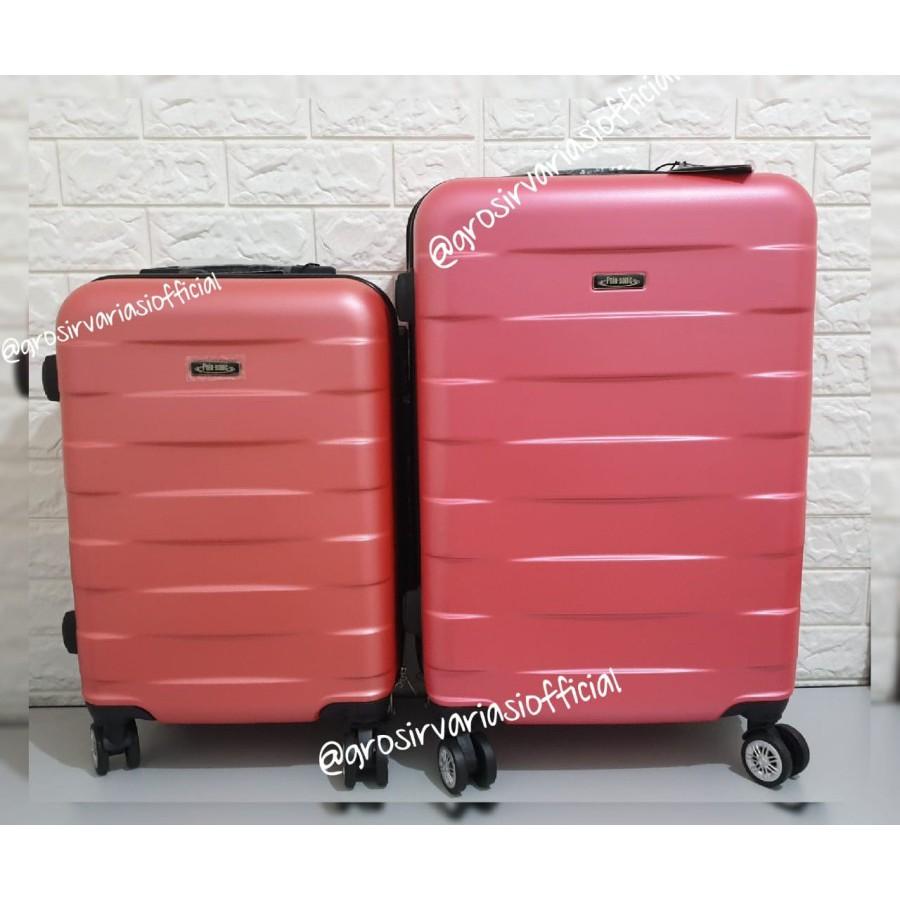 กระเป๋าเดินทาง Buruan Diborong Buy 1 Free 1 Abs 24 นิ้ว + 20 นิ้ว Zl005