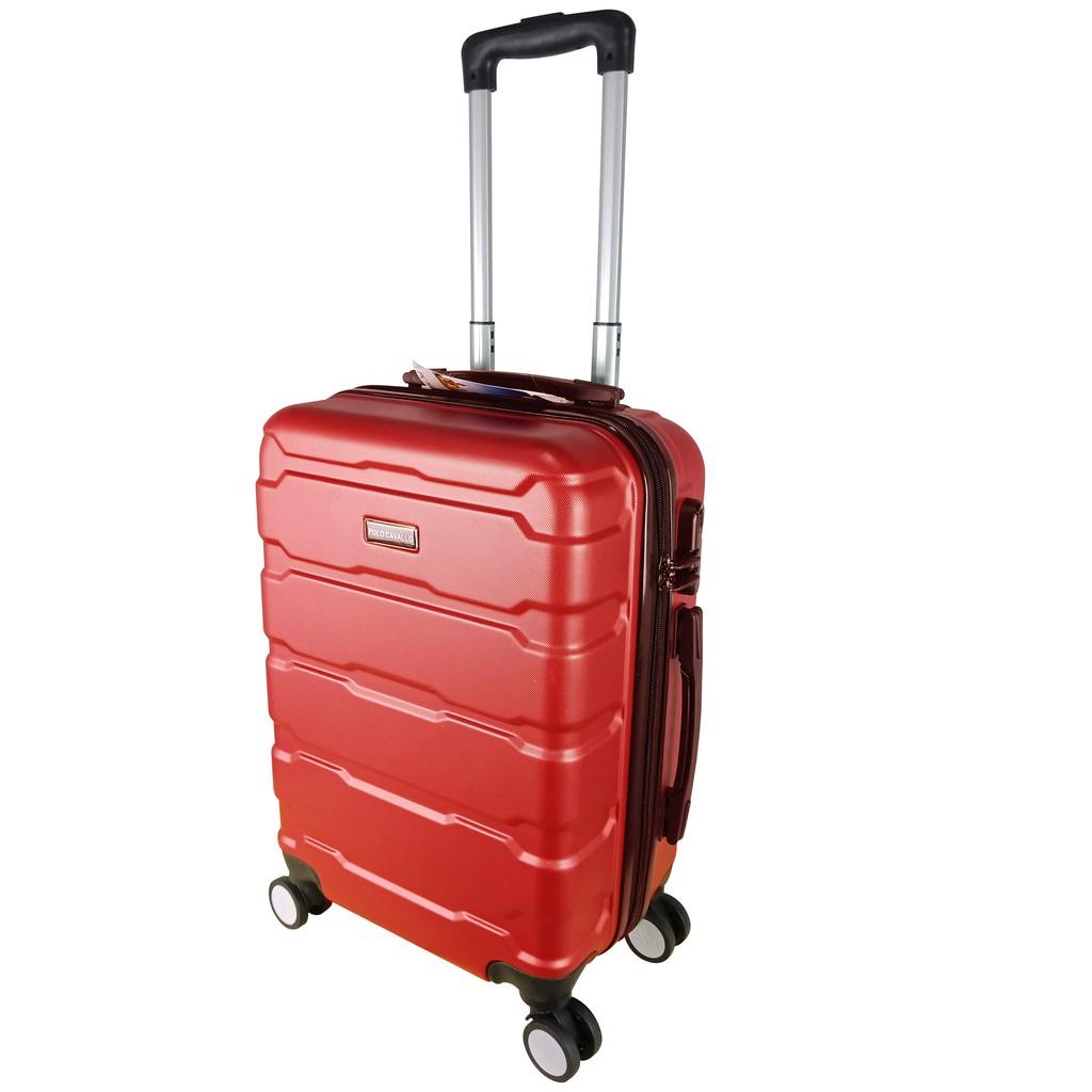 Polo Cavallo Abs กระเป๋าเดินทางขนาด 6152 24 นิ้ว (รับประกัน)