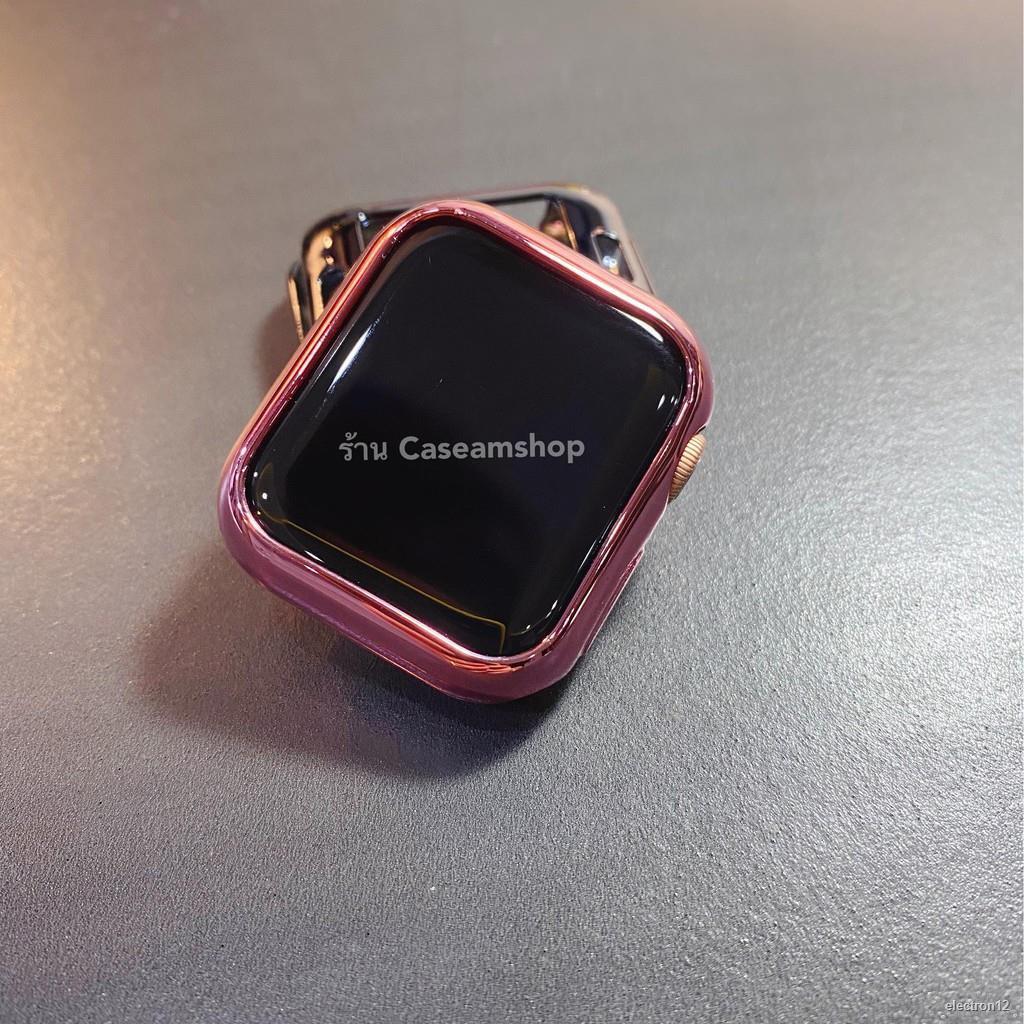 ✔️☬๑☾Case TPU นิ่ม สีเงาวาว AppleWatch Series 1,2,3,4,5,6,SE