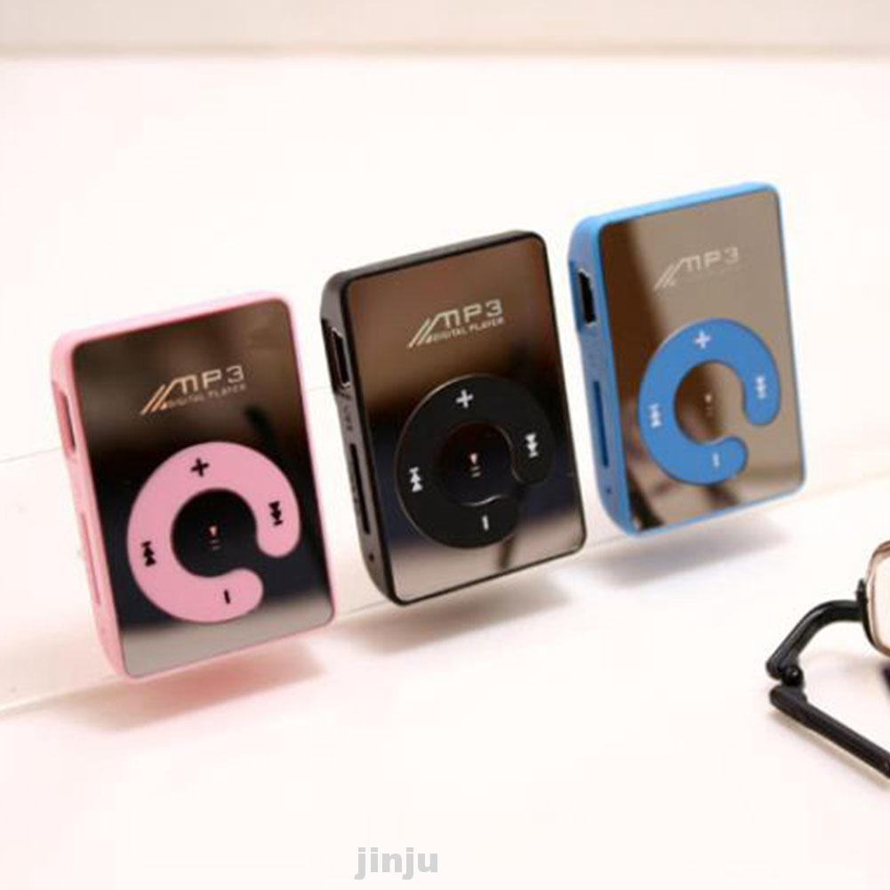 MP3 Player C Button Music Portable Sports Waterproof