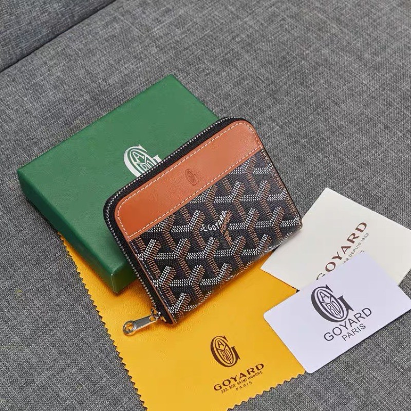 Goyard Short Zipper Wallet Card Bag