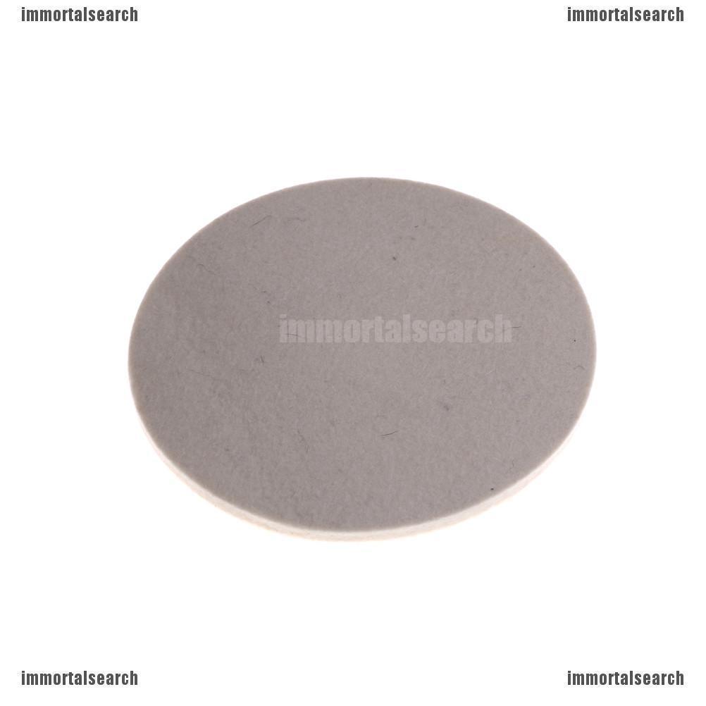 50mm//2 Wool Felt Buffing Grinding Wheel Pad Polisher Polishing Disc+Holder