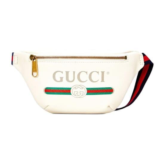 ของแท้100% กระเป๋า GUCCI PRINT SMALL BELT BAG 90 [MC5277920GCCT882290]