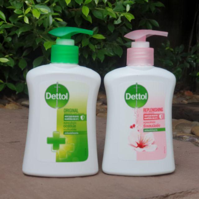 เจลล้างมือแบบพกพาถุงเติมเจลล้างมือเดทตอล เจลล้างมือ✎☈Dettol สบู่ล้างมือเดทตอล 225 Ml.