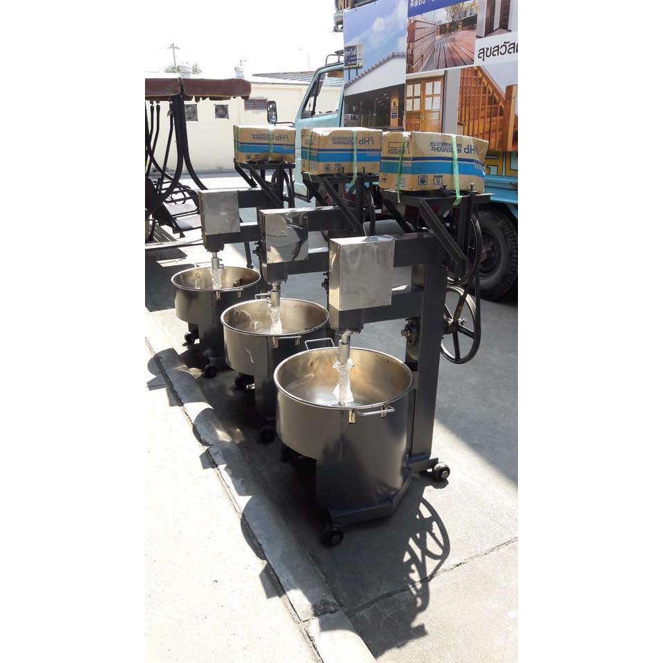 เครื่องกวนไส้ขนม กวนน้ำพริก