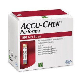 Accu-Chek Performa 100Test Strips (1 Boxes x 100 Each) Made In USA
