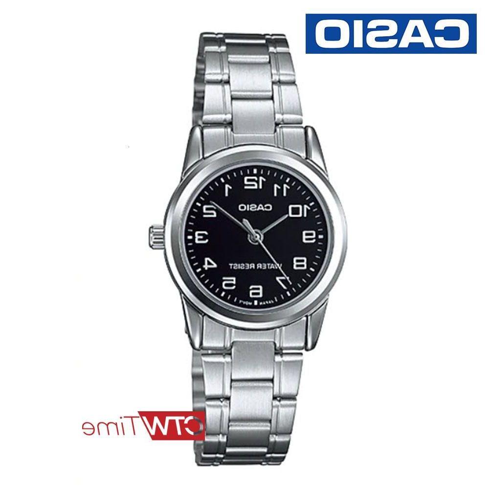 《ลดล้างสต๊อก》Casio Standard นาฬิกาข้อมือผู้หญิง สายสแตนเลส รุ่น LTP-V001D