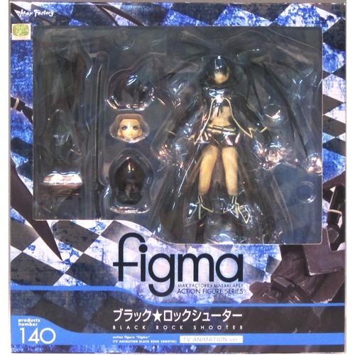 [ส่งจากญี่ปุุ่น] Black Rock Shooter TV ANIMATION ver. figma 140 Black Rock Shooter Figure ฟิกเกอร์