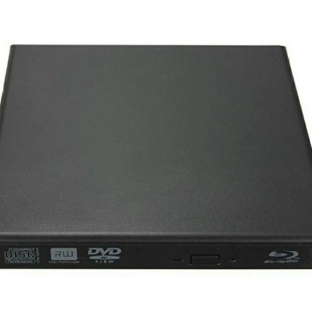 External USB 3.0 Slim 3D Blu-Ray Combo Drive CD/DVD BurnerWriterReader For Computet