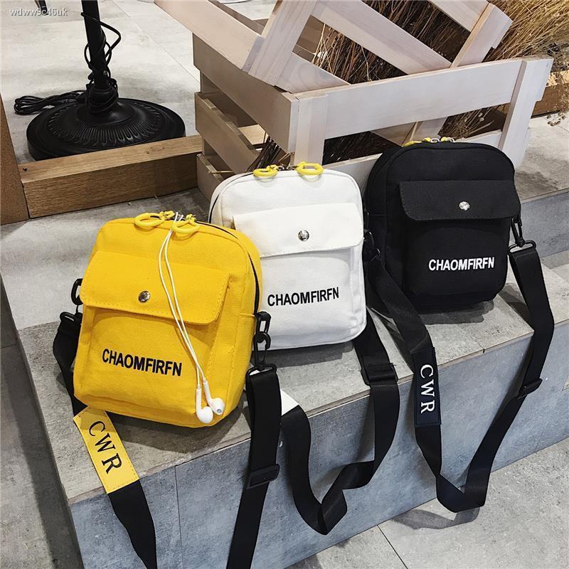 ▩> ผ้าใบเด็กกระเป๋าใบเล็กสำหรับเด็กชายและเด็กหญิงกระเป๋า Messenger เวอร์ชั่นเกาหลีทั้งหมด - จับคู่การเดินทางของนักเรียนแ