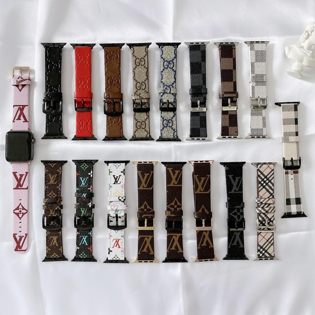 หนังระดับไฮเอนด์ใหม่apple watch strap ร้านคนไทย สินค้าพร้อมส่งiwatch series SE 6 5 4 3 2 1สาย applewatch 38 40 42 44mm A