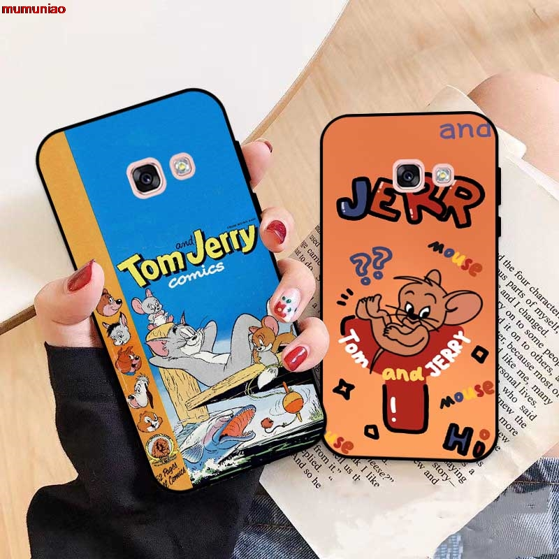 Samsung A3 A5 A6 A7 A8 A9 Pro Star Plus 2015 2016 2017 2018 HTOMJ Pattern-3 Silicon Case Cover