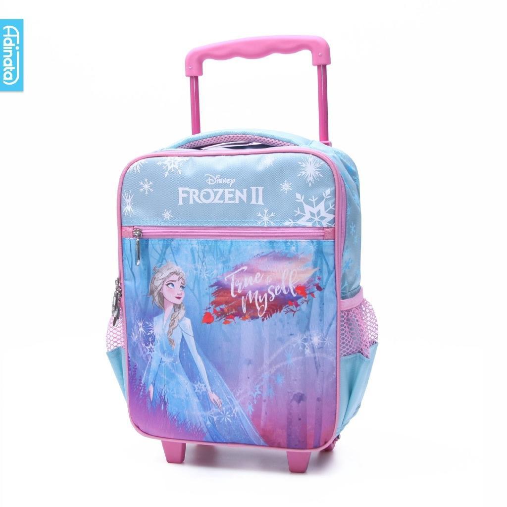 กระเป๋าเดินทางล้อลากลาย Frozen Leaf ขนาด 14 นิ้วสําหรับเด็ก 0647