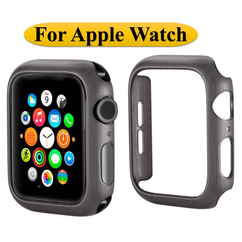 ☁เคส Apple Watch Case PC Hard Protective Frame For Apple Watch Series 6 5 4 3 2 1,Apple Watch SE iWatch Cover 38mm 40mm