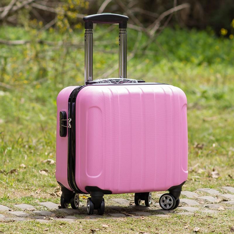 ✆ซื้อเคสรถเข็นเด็กเวอร์ชั่นเกาหลี 1 แถม 10 กระเป๋าเดินทางใบเล็กหญิง 18 นิ้ว 16 นิ้วกระเป๋าเดินทางมินิชาย