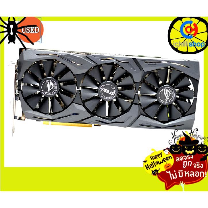 การ์ดจอ Asus Strix Gaming GTX1080TI 11GB 3F No Box (ประกันร้าน 30 วัน) P07258