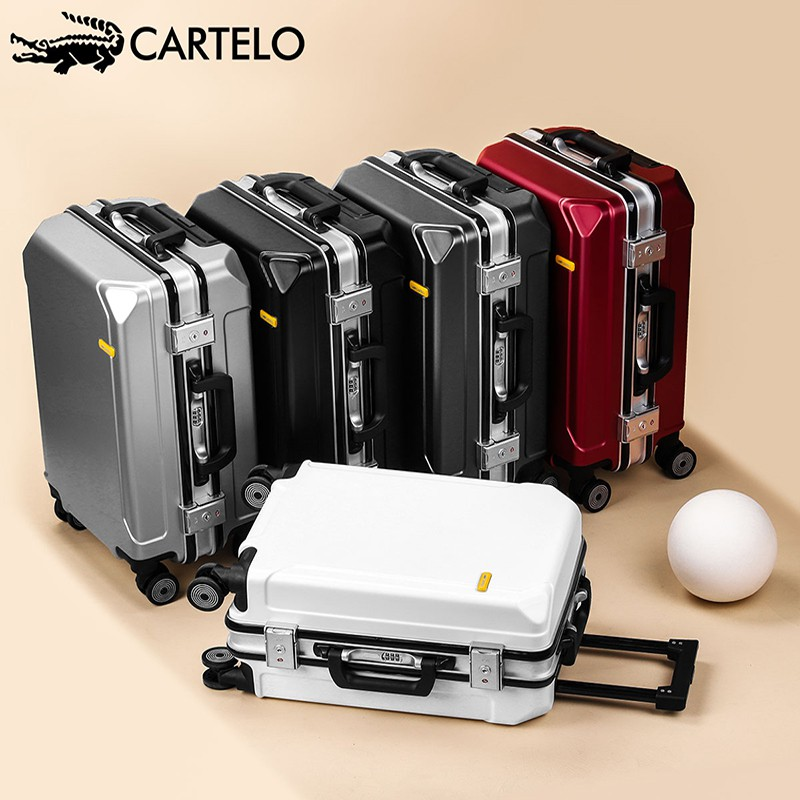 กระเป๋าเดินทางผู้ชายทนทานกล่องขนาดเล็กหนา20นิ้วรถเข็น-สไตล์ Lockbox 24กระเป๋าเดินทางผู้หญิง1