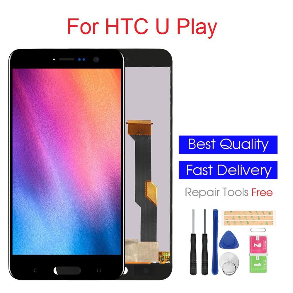 หน้าจอแสดงผล LCD สำหรับ HTC U Play หน้าจอแสดงผล LCD