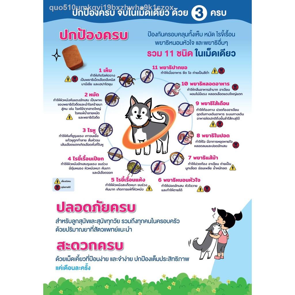 【มีสินค้า】♚Nexgard Spectra Dog 15-30 kg สำหรับเหินหมัดเจาะมวลสำหรับสุนัขน้ำหนัก กิโลกรัม