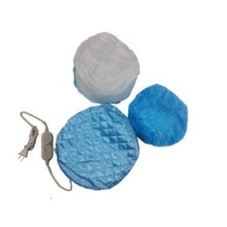 [จัดส่งฟรี]Twosister หมวกอบไอน้ำ ถนอมเส้นผม รุ่น cap2 - Blue