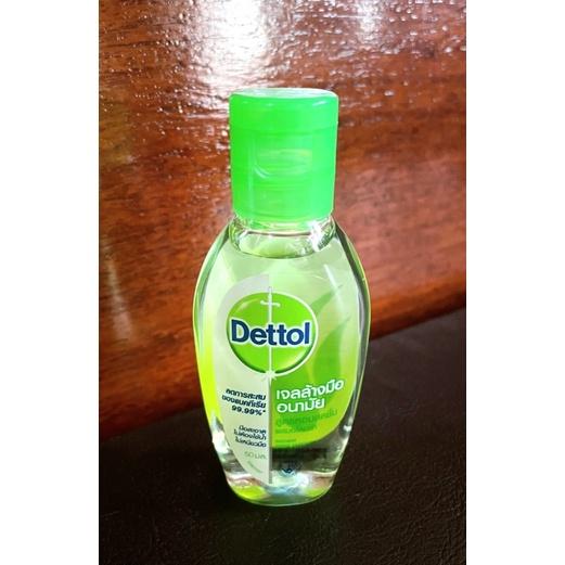 เจลล้างมืออนามัย Dettol (ชิ้นละ 35 บาท)
