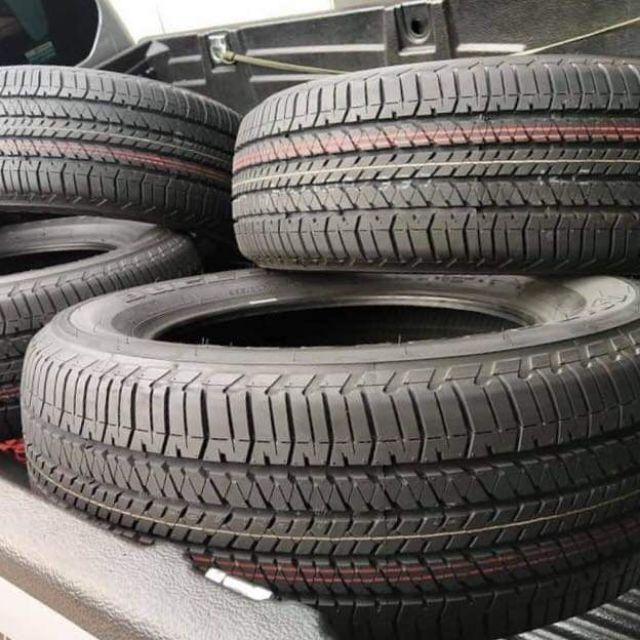 ยางบริสโตน 265/60R18 ป้ายแดงถอดศูนย์ ปี20  Bridgestone HT684 Size 265/60R18