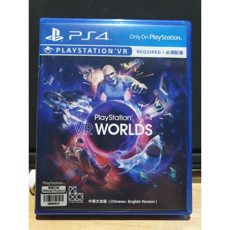 แผ่นเกมส์ PS4 : VR WORLDS