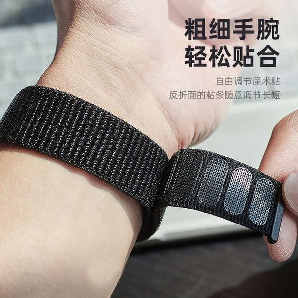 สาย applewatch นุ่มและไม่ผูก สายรัด iwatch เหมาะสำหรับสาย Apple Watch SE ทอละเอียด applewatch รุ่น 3/2/5/4 ระบายอากาศ 38
