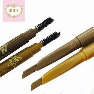 Review of ดินสอเขียนคิ้ว Mille 3D Eyebrow Pencil Waterproof