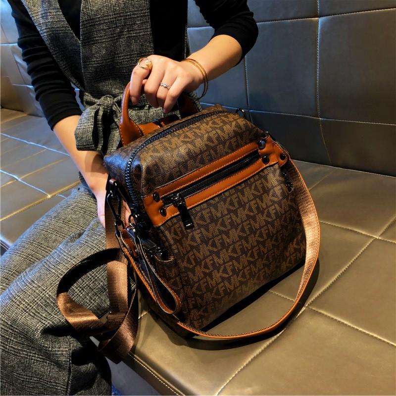 กระเป๋าเป้แบรนด์ฮ่องกง 2021 กระเป๋าเป้ผู้หญิงใหม่กระเป๋าเดินทางแฟชั่นลำลองกระเป๋าเดินทางใบเล็กสไตล์ตะวันตก