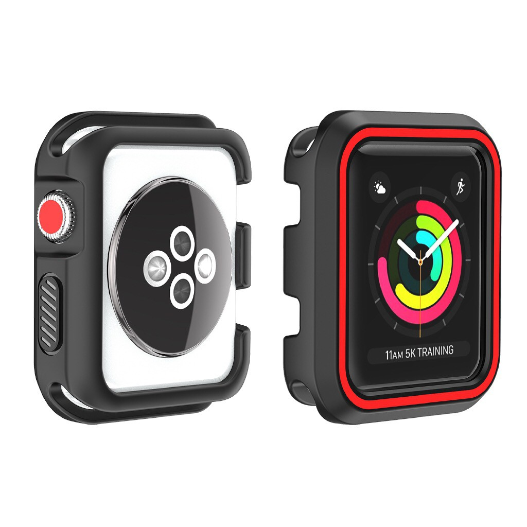 【Apple Watch Case】เคสใสแบบนิ่มสำหรับ Apple Watch 40mm 44mm  iWatch Series 4 series 5/6/se