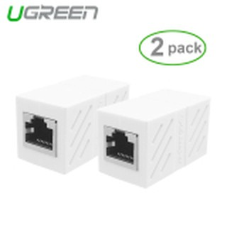 UGREEN 8P8C RJ45 Cat 6 Connector Network Cable Adapter (2Pack )   - Intl
